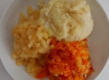 Microwave Side Dishes Trio Of Mash Mashed Potatoes Mashed Swede Carrot Swede Mash