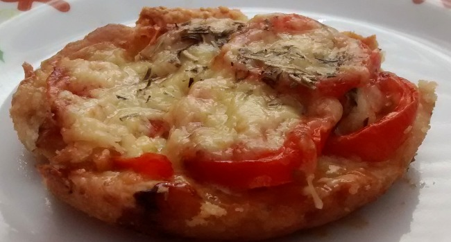 Mini Cheese Tomato Tartlet