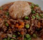 Savoury Mince Suet Dumpling Microwave Meal