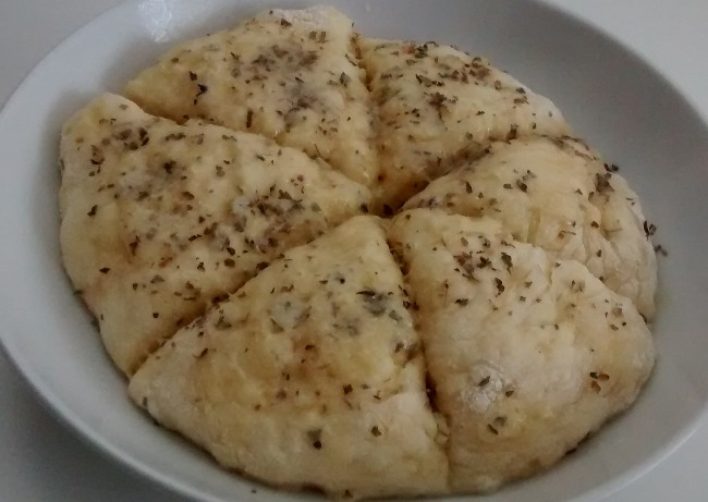 Microwave Cheese Scones Oregano