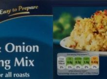 Lidl Kania Sage Onion Stuffing Mix