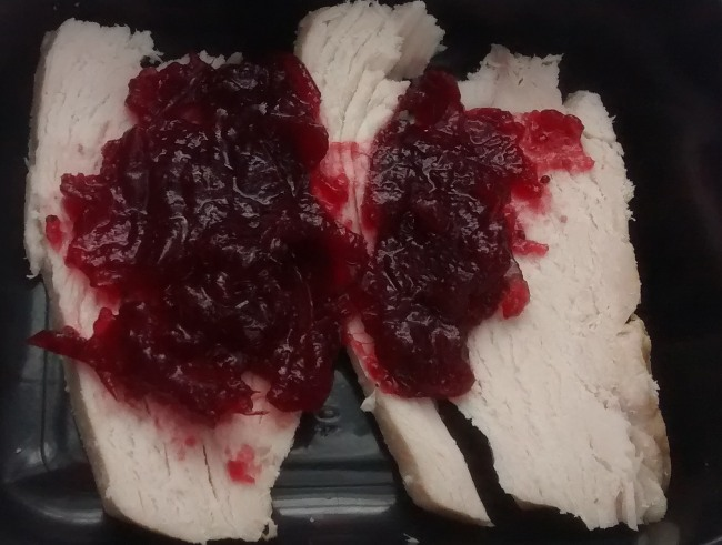 Microwave Leftover Turkey