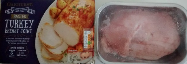 Oakhurst Basted Turkey Breast Joint Aldi