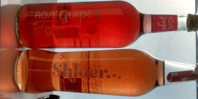 Shloer Rose Lidl Rose GrapeJuice Non Alcoholic Drinks