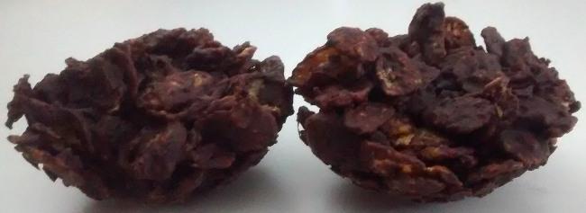 Quick Chocolate Cornflake Crispies